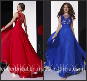 Red Blue Vestidos Panoply Party Prom Gown Evening Dress P14687 pictures & photos