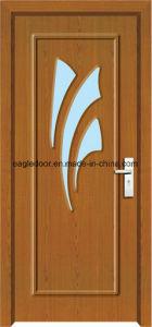 Dubai Latest Design PVC Interior Wooden Doors (EI-P126) pictures & photos
