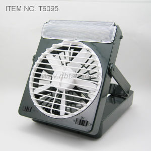 Camping Fan with Light (T6095) pictures & photos