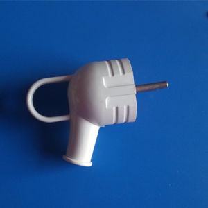 Two Round Pin 4.0mm Diameter ABS Plug (RJ-0152) pictures & photos