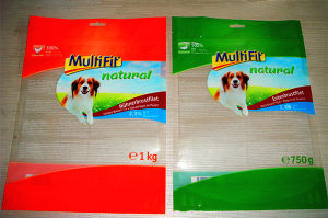 Customize 3 Layers Printed Pet Food Packaging Bag pictures & photos