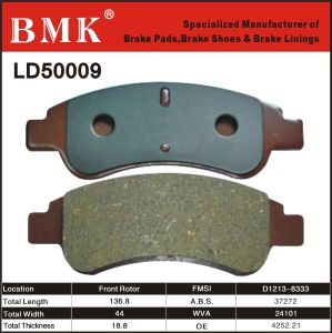High Quality Brake Pad (LD50009) pictures & photos