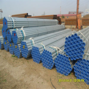 Thread Hot DIP Galvanized Pipe with Cap pictures & photos
