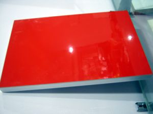 Red Color High Glossy UV Panel pictures & photos
