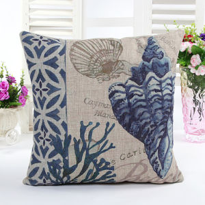 Fashion Decorative Digital Sea Creature Printed Cushion Coastals Pillow (LCL04-510) pictures & photos
