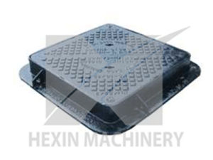 Heavy Duty Ductile Iron Manhole Cover by Sand Casting pictures & photos