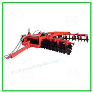 Tractor Implement Agricultural Power Tiller Trailed Hydraulic Disc Harrow pictures & photos