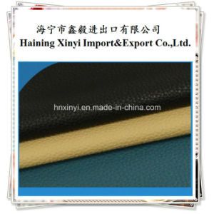 PU Artificial Leather for Making Sofa and Furniture pictures & photos