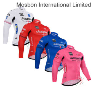 Thermal Fleece Long Sleeve Cycling Jersey pictures & photos