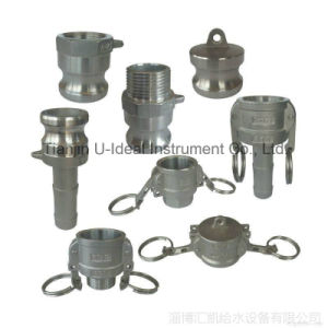 Aluminum-Stainless Steel Fast Connection Cap-Pipe Fitting (DC) pictures & photos