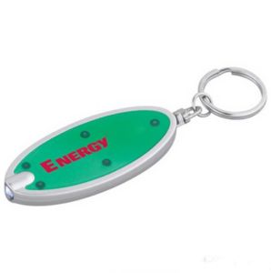 Custom Flashing LED Keyring with Logo Printed (4057) pictures & photos
