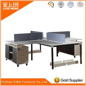 Fashion 4 Seat Office Bench Modern Office Workstations