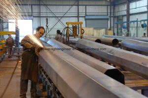 Galvanization Steel Tubular Poles pictures & photos