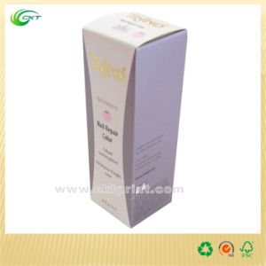 Printing Cosmetic Box in China with Gold Foil (CKT-CB-122)