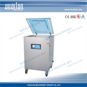 Hualian 2015 Packaging Vacuum Machine with Gas (HVC-510F/2A-G) pictures & photos