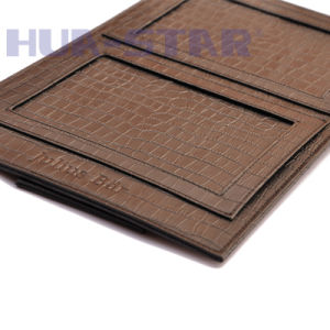 Customized Logo Leather Photo Frame as Promotional Gift (HS-T502) pictures & photos