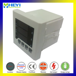 Intelligent Digital Current Meter AC Digital Current Meter LED Display Rh-3AA61 80*80 Hole Size Three Phase pictures & photos