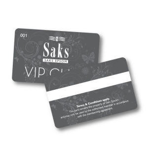 Cr80 Standard Size Printable PVC VIP Card Magnetic Card with UV Spot