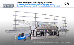 glass straight line edging machine pictures & photos