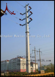 Power Transmission Line Monopole and Steel Poles pictures & photos