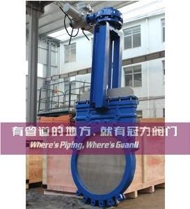 Electric Knife Gate Valve for Water Treatment Industry pictures & photos