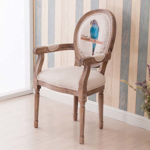 Hot Selling Antique Dining Chair with Armrest (M-X1161) pictures & photos