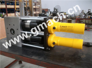 Conical Twin Screw Extruder Gm-Dp-R Series Continuous Screen Changer pictures & photos