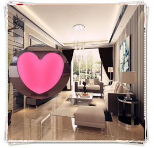 Pink Heart Type Bubble LED Display pictures & photos