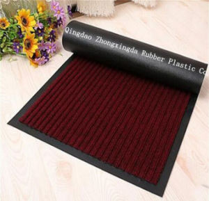 Double Line PVC Backing PP Stripe Mat pictures & photos