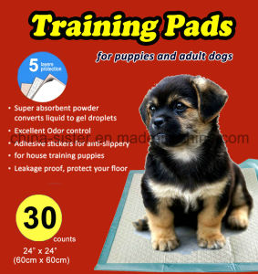 Super Absorbent Puppy Training Pads for Adult Dogs and Puppies of All Age pictures & photos
