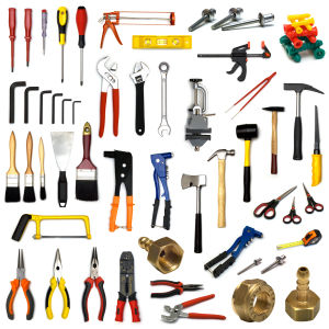 All types of tools