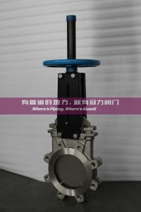Uni Directional Wafer Knife Gate Valve pictures & photos