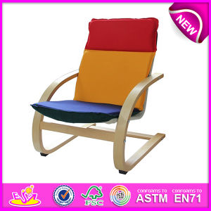Colorful and Cheap Wooden Relax Chair, Comfortable and Stable Wooden Chair Toy, Wooden Relax Chair Toy W08f039 pictures & photos
