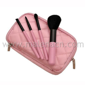 4PCS Cosmetic Brush Makeup Brush with Fabric Case pictures & photos