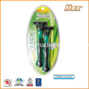 Popular in Austrilia Good Quality High Cost-Effective Disposable Shaving Razor (La-6122) pictures & photos
