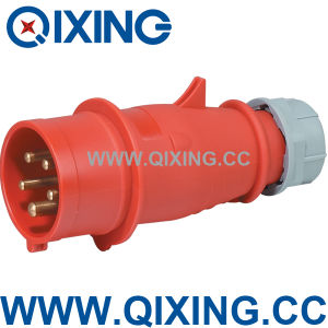 Cee IEC 3p+N+E 400V Power Three Phase Industrial Plug and Socket (QX3) pictures & photos