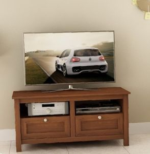 No Tool Assembly Wooden TV Cabinet (MS-001)