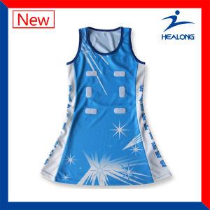 Healong Custom Netball Dress Sublimated Netball Uniform pictures & photos