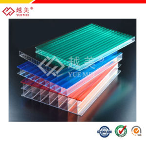 Ten Years Guaranty Polycarbonate Twin Wall Hollow Sheet (YM-PC-007) pictures & photos