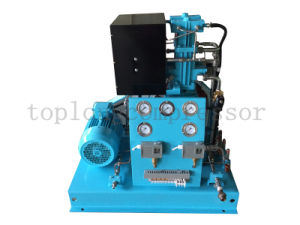 Oil Free High Pressure Oxygen Compressor Nitrogen Compressor Booster (Gow-7/4-150 CE Approval) pictures & photos