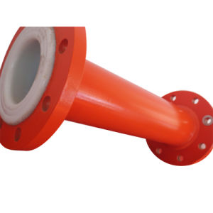 PTFE Lined Pipe with Fixed Flange pictures & photos