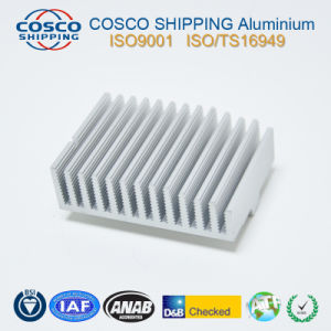 Aluminum Extrusion Profile for Heat Sink with Anodizing & CNC Machining pictures & photos