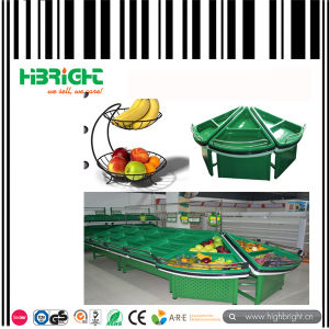 Supermarket Vegetable and Fruit Display Stand Racks pictures & photos