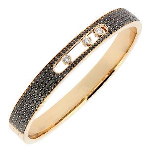 Black Diamond 925 Silver Bracelets Move Stone Jewelry pictures & photos