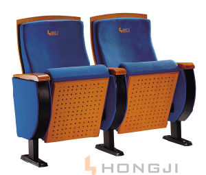 Popular Auditorium Cinema Chair Church Chair Theater Seating (HJ66) pictures & photos