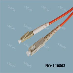 LC-Sc Sx Mm Fiber Optical Patch Cord /Fiber Patch Cable