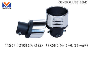Exhaust/Muffler Pipe for Auto/General Use Bend, Made of Stainless Steel 304b pictures & photos