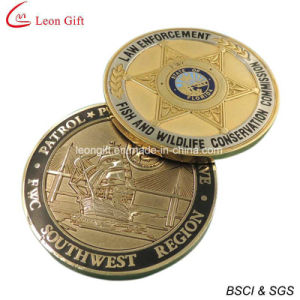 Hot Sale Antique Gold Souvenir Challenge Coin pictures & photos
