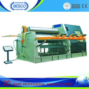 CNC 4 Roller Plate Forming Machine, CNC 4 Roller Plate Rolling Machine, CNC 4 Roller Bending Machine pictures & photos