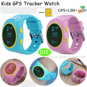 GPS Kids Tracker Watch with Remote Monitor and Safety Fence (D12) pictures & photos